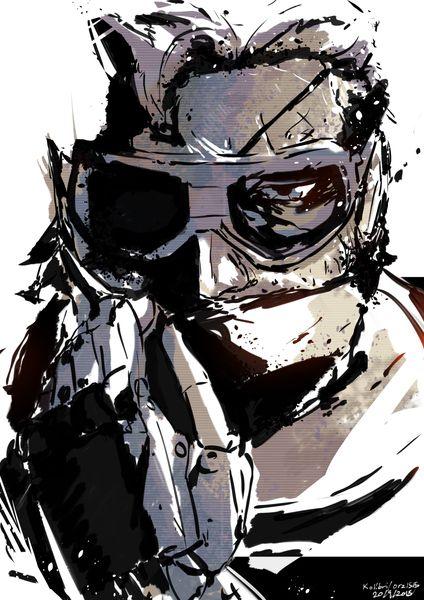 """Punished """"Venom"""" Snake, Metal Gear Solid V: The Phantom Pain"""