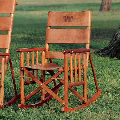 King Ranch Low Back Rocking Chair  King Ranch  My Style  Pinterest ...