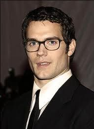 Henry Cavill...yes please (and with the nerdy glasses...swoon)