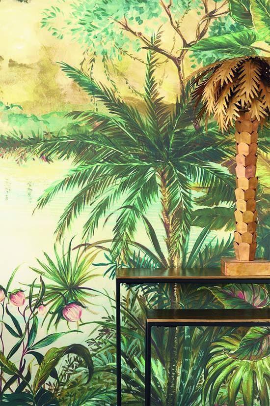 Trends In Wanddecoratie 2018 Behang Vintage Achtergrond Muurschildering Behang