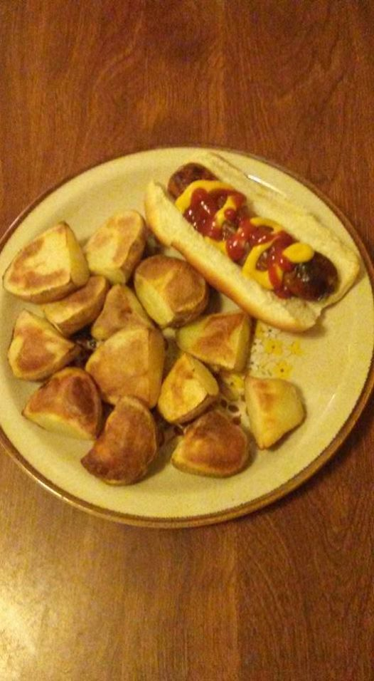 Tonight Brats And Wedges 1/8/17