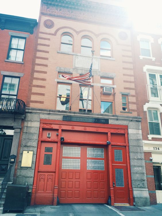 Firehouse converted to home. West village New York City