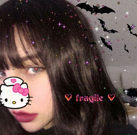 Pin By Infatuation On Girls Goth Aesthetic Aesthetic Girl Grunge Girl