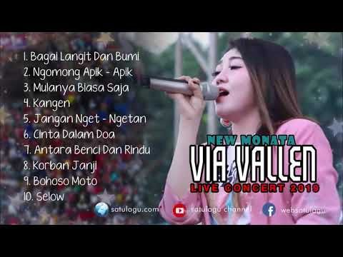 Via Vallen Koplo New Monata Full Album Live Record 2019 Youtube