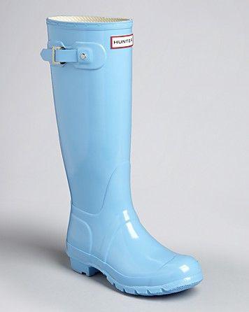Hunter Rain Boots - Original Tall Gloss | Bloomingdale's ...