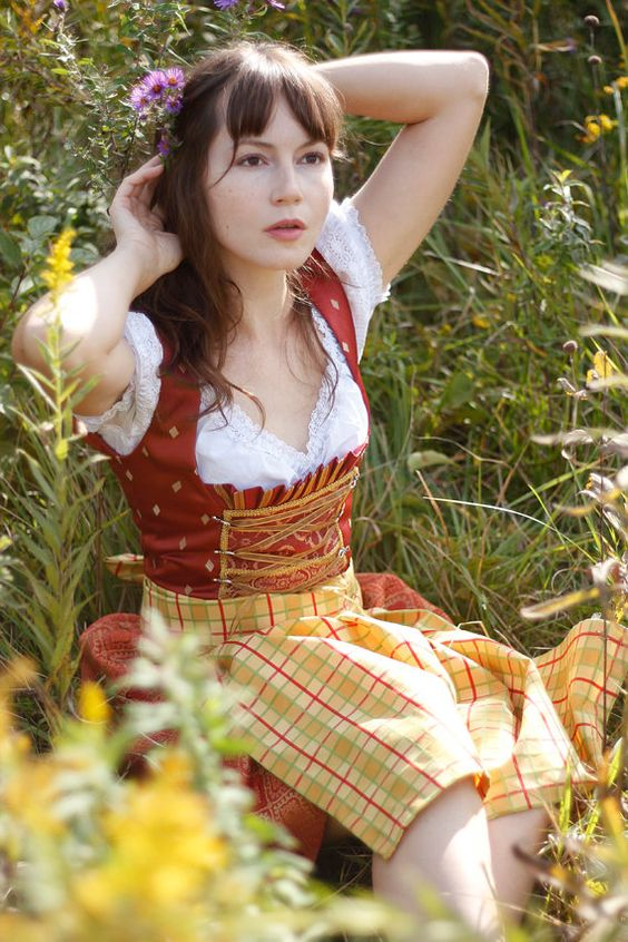 Beautiful, Dirndl and Girls on Pinterest