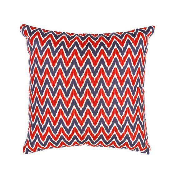 Red & Blue Chevron Stripe