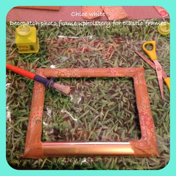 Glue Plastic Glasses Frame : Decopatch glue gives any surface a new covering. Painting ...