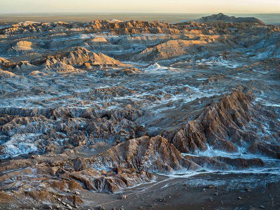 Valle de la Luna lookout, Cordillera de la Sal, Atacama desert by Ignacio Palacios - Photo 83706165 - 500px