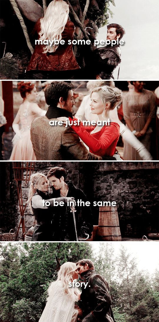 maybe some people are just meant to be in the same story #ouat