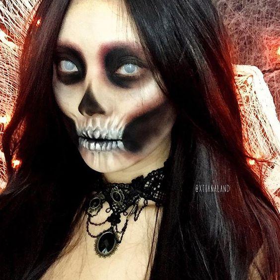 Maquillage Squelette, Costumes Squelette, Crâne Maquillage, Sfx Maquillage,  Maquillage D\u0027halloween, Crâne De Halloween, Costumes D\u0027halloween, Maquillage