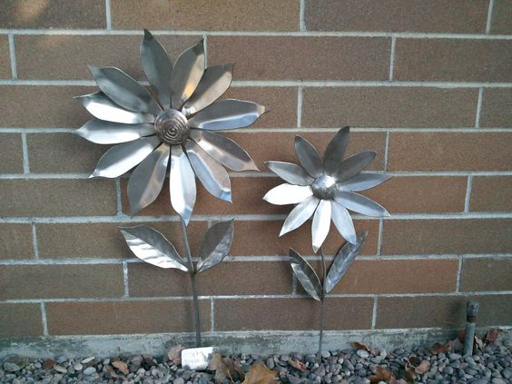 Stainless Steel flowers