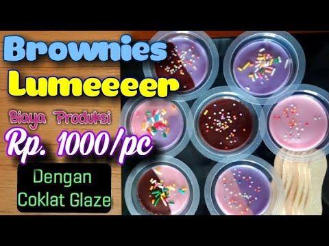 Resep Brownies Cup Kukus Lumer Tahan Lama Suhu Ruang Ide Usaha