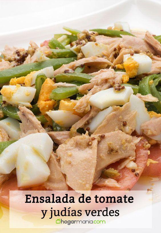 Receta De Ensalada De Tomate Y Judías Verdes Karlos Arguiñano Receta Ensalada De Tomate Ensaladas Recetas Ensalada De Judias Verdes