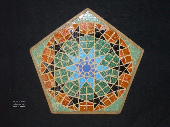 Mosaico de vidrio  Medidas 30 x 24  Bs. 1500 de venta en www.flappersboop.com