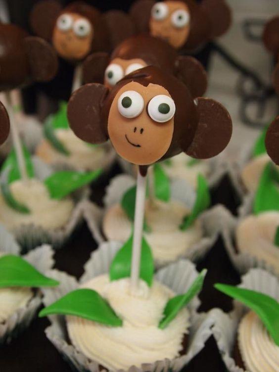 Ooo Ooo Ahh Ahh! Monkey cake pops!