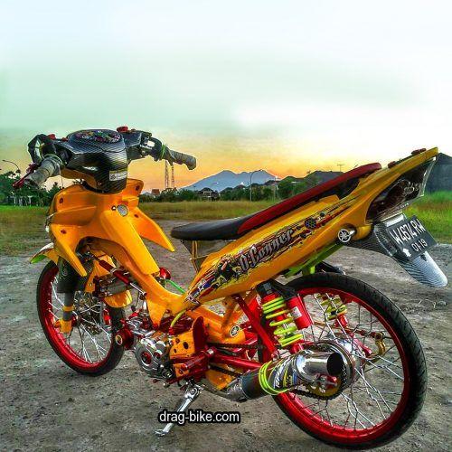 45 ร ปภาพของรถจ กรยานยนต ด ดแปลงร ปภาพของ Satria Fu Drag สไตล การแข งข น Drag Bike Com แก ไขมอเตอร ป จจ บ น ส วนท 2 Cafe Racer Drag Racing Motogp
