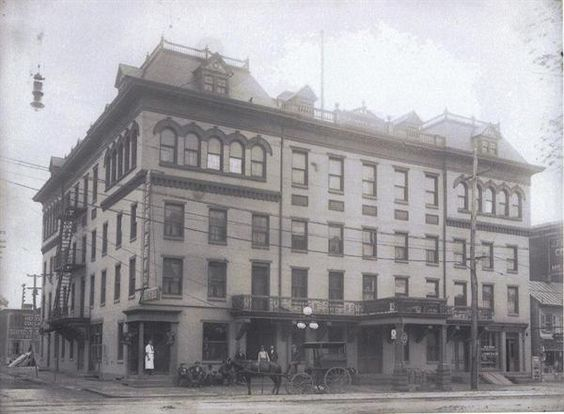 Merchants Hotel At High And York Sts Pottstown Pa Year Unknown Hotels Grand Otherwise Pinterest