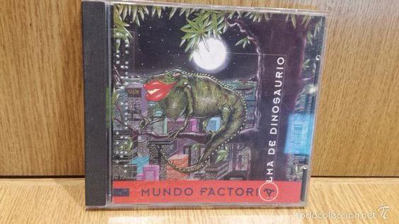 MUNDO FACTORÍA. ALMA DE DINOSAURIO. CD /FREE RECORDS - 1995, 11 TEMAS / CALIDAD LUJO.