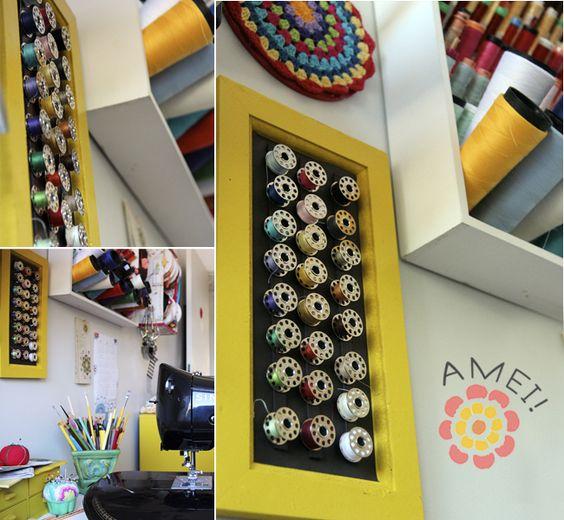 Milonga: O novo porta-bobinas  MAGNETIC