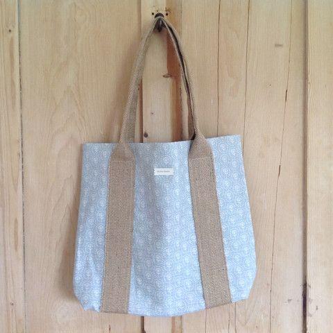Shopper Bag - Cornish Blue Daisy