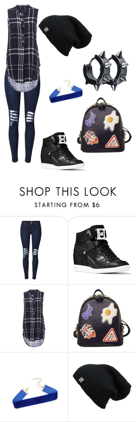 """Untitled #340"" by jenn-m31 ❤ liked on Polyvore featuring MICHAEL Michael Kors and WithChic"