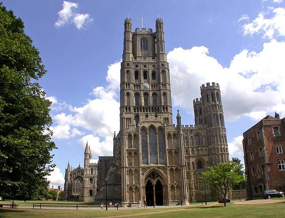 Ely Cathedral - Cambridgeshire - One of the most extraordinary churches in the world - The present Abbey was begun in 1082