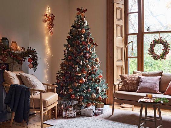 Arbol Navidad 2018: Ambar