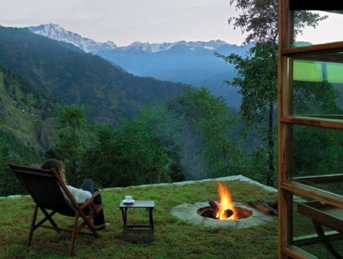 Peaceful....: Fire Pits, Favorite Places Spaces, Firepit Ideas, The View, Dream Home, Beautiful Places, Firepits, Backyard, Future Firepit