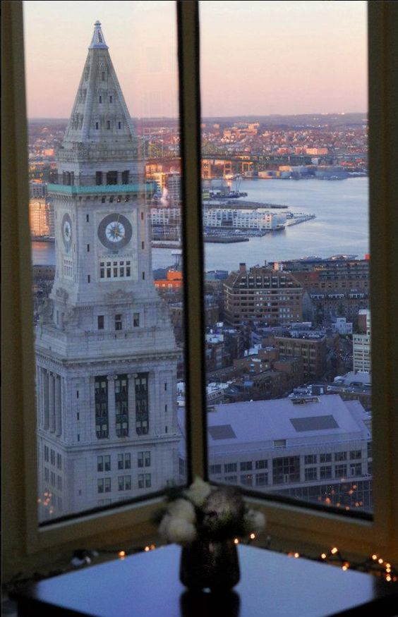 Check at the view from The University of Massachusetts Club!