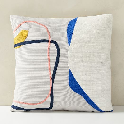 corded shapes pillow covers pillow
