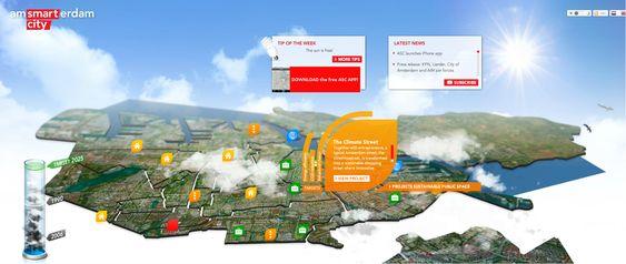 Smart Cities o Ciudades Inteligentes - Amsterdam