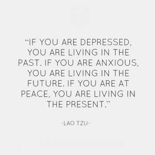 Lao Tzu on depression