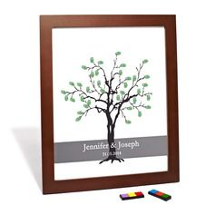 Guestbook - $29.99 - Personalized Tree Design Canvas Fingerprint Painting  http://www.dressfirst.com/Personalized-Tree-Design-Canvas-Fingerprint-Painting-118029399-g29399