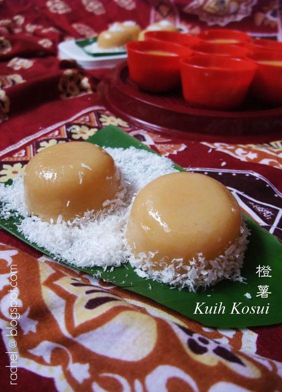 简单 の 生活: 橙薯 Kuih Kusoi