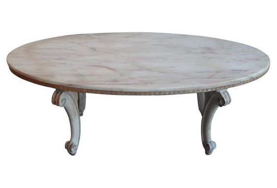 Italian Pink Marble Coffee Table | Pink, Products and ...