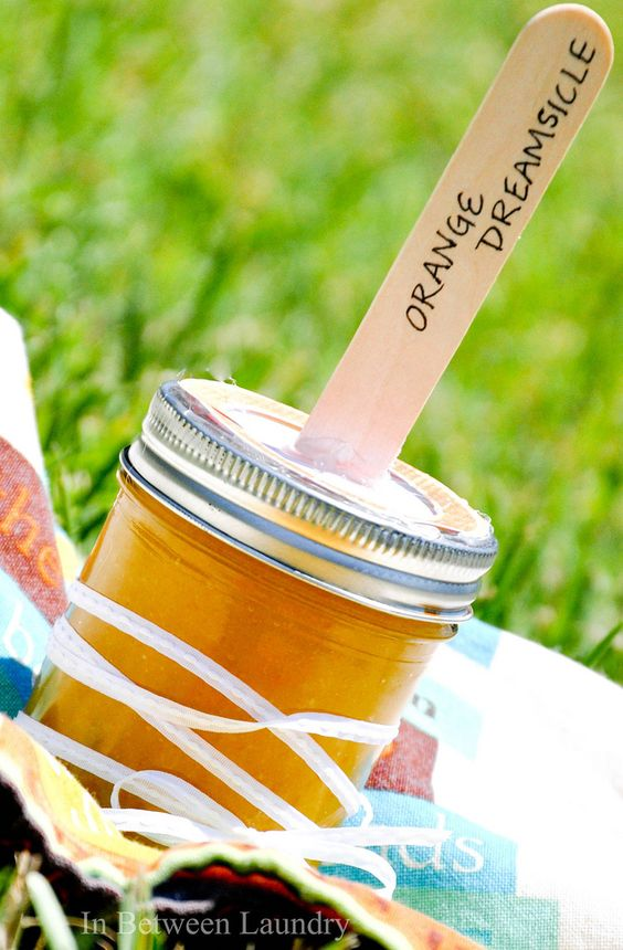 Orange Dreamsicle Sugar Scrub <- Packaging is superb!