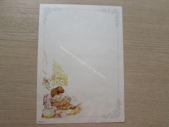 Papel de carta da coleção Artesanal - 6558 - Papel de carta da coleção Artesanal - 6558