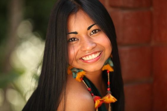 Native American (Guarani) Beauty of South America