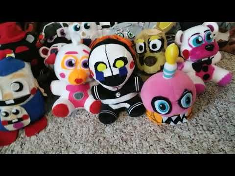 Youtube Stuffed Animals, Fnaf Custom Plush Collection Youtube Fnaf Fnaf Characters Plush