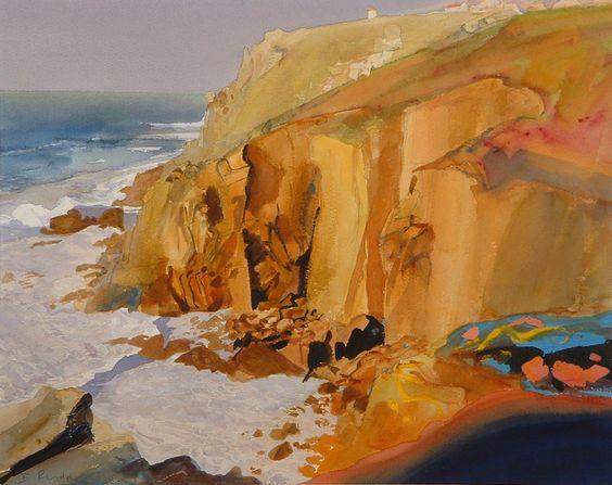 Cliffs Near Land's End: