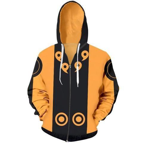 Uzumaki Naruto0 Cosplay Hoodie Men Women Long Sleeve Sweatshirt Zipper Jacket
