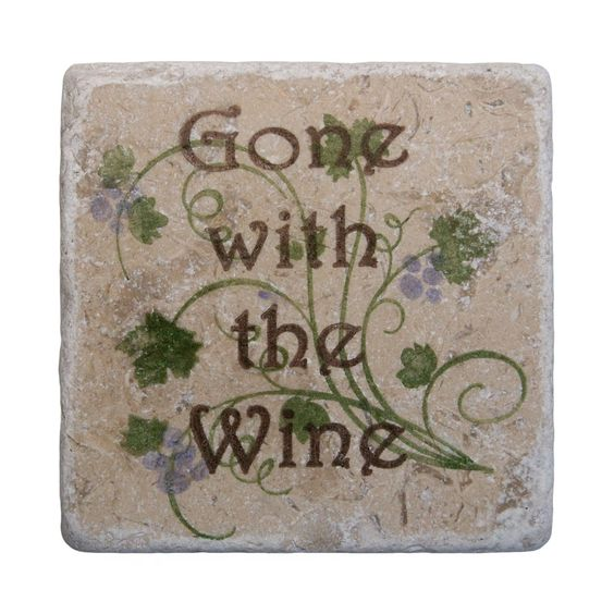Gone with the Wine Coasters