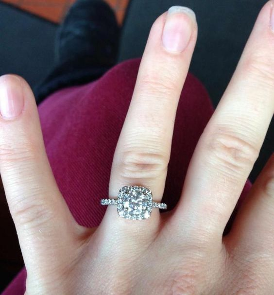 Do you love this dazzling halo style, or do you prefer a different ring design? Let us know in the comments! | Ritani Engagement and Wedding Rings