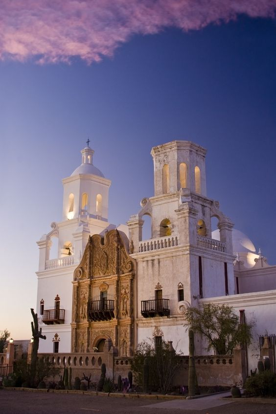 San Xavier Del Bac, Arizona | 24 Stunningly Beautiful Places In The Southwest You Need To Visit Before You Die
