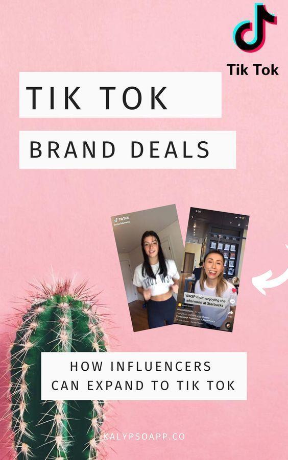 How Influencers Can Land Tiktok Brand Deals Kalypso In 2021 Social Media Success Social Media Branding Blog Social Media