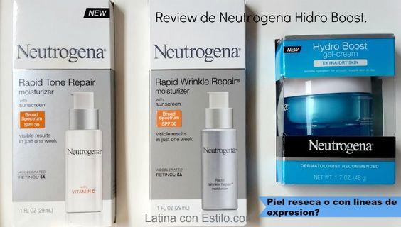 neotrogena hydro boost gel reviewSORTEO De estos productos en mi blog hasta el 23 de Octubre! #sponsored