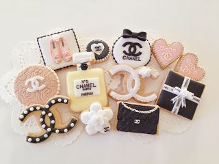 Chanel Theme Party Cookies