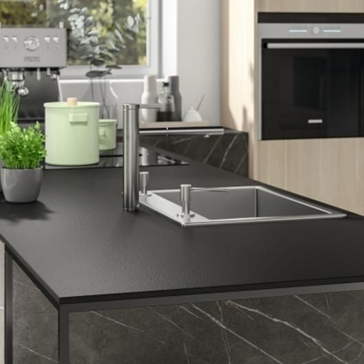 Compact Laminate Worktops From Egger In 2020 Laminate Worktop House Interior Kitchen Worktop