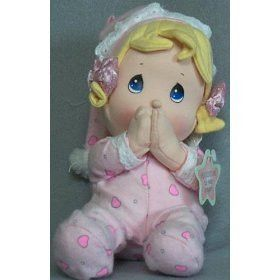Precious Moments Spanish Prayer Doll - Girl in pink